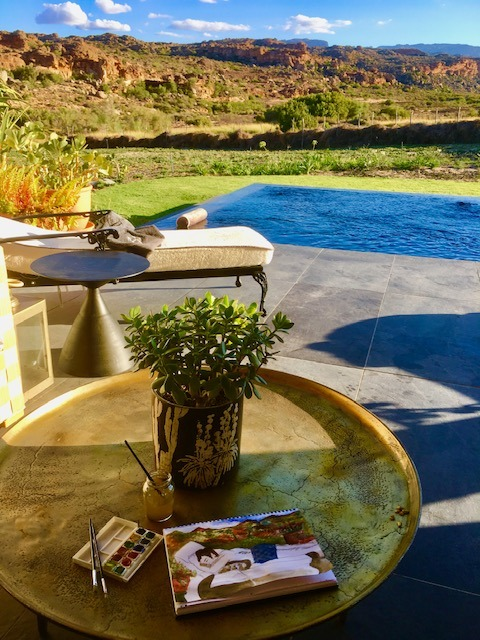 Wellness experience at Bushman's Kloof in South Africa, one of the top nature retreats in the world. It's a Relais & Chateaux property in the Cederberg Mountains.