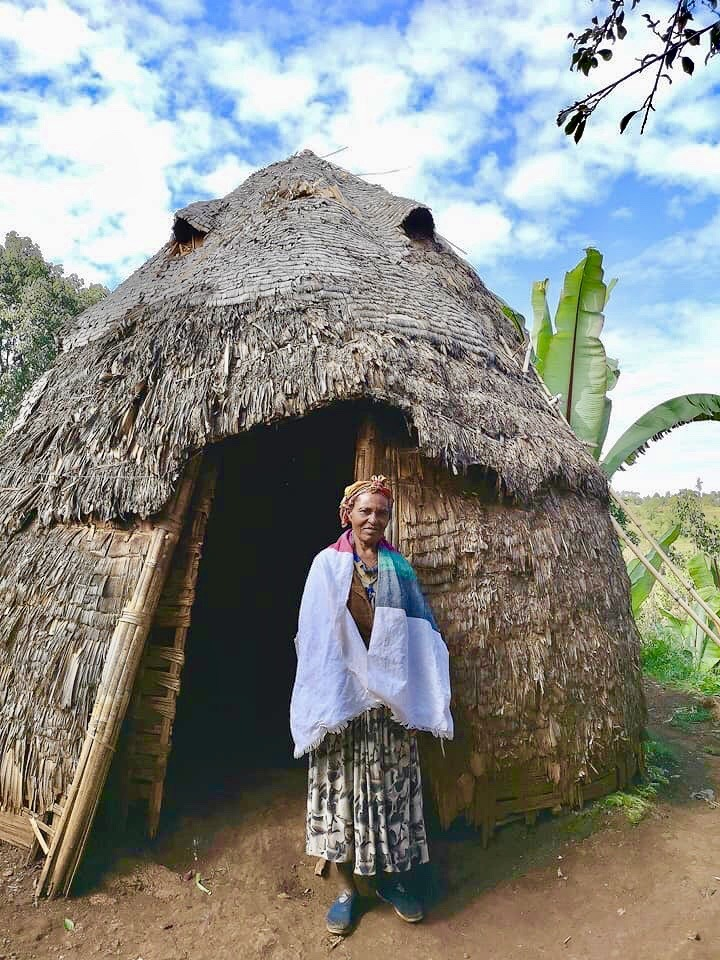 Visiting the Dorze tribe, the oldest tribe in Ethiopia, in the mountains of Arba Minch.