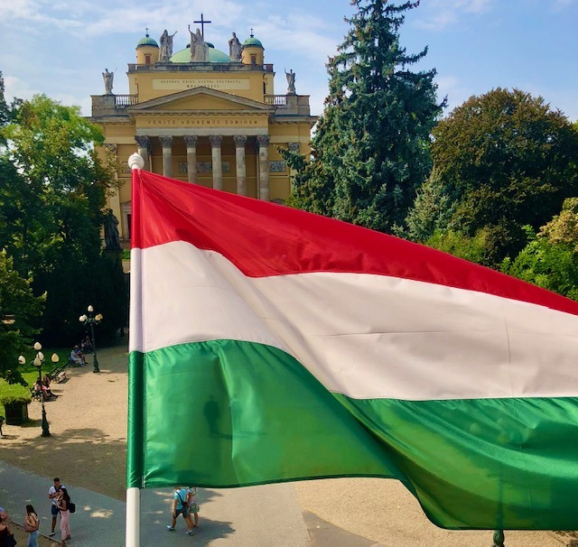 Visiting Esterhazy Karoly University and the castle of Eger in Hungary