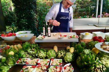 Healthy breakfast at Aqua at the Four Seasons Bosphorus in Istanbul