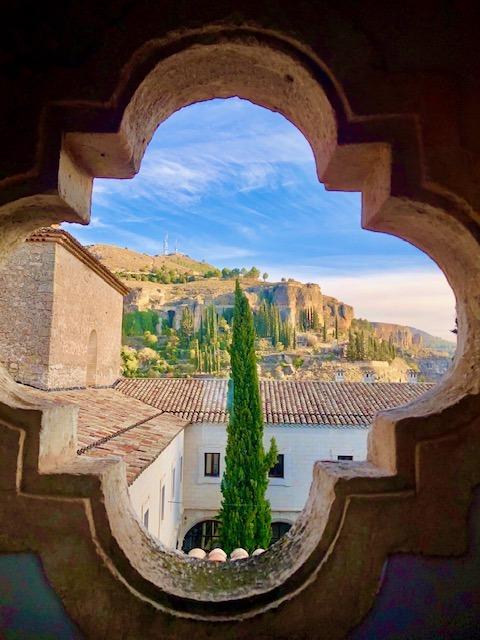 The beautiful parador de Cuenca is the best hotel in Cuenca