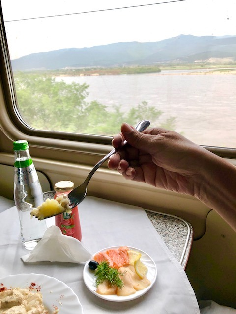 Riding the Trans-Siberian Express across Siberia